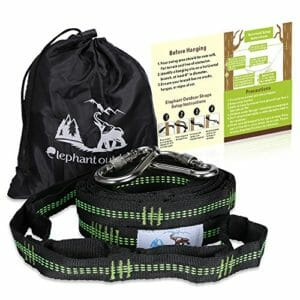 Best-Hammock-Tree-Straps-with-Carabiners-Suspension-System-2000-LBS-Heavy-Duty-XL-Polyester-Webbing-Straps-32-Loops-Hanging-Kit-for-OuterEQ-Eagles-Nest-Outfitters-Bear-Butt-Eno-Hammocks-and-More-0