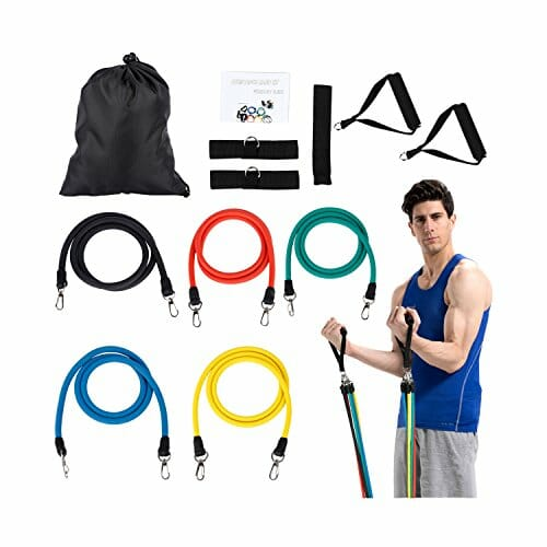 Workout Bands That Won T Break: OUTAD Resistance Bands Set Door Anchor Attachment For