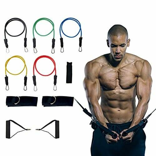 Exercising With Stretch Bands
