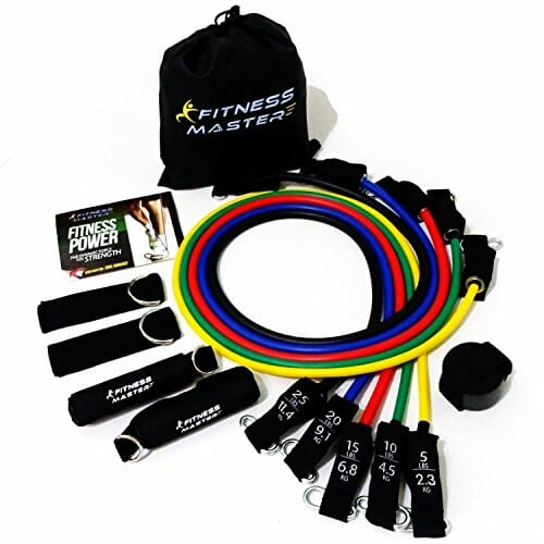 Resistance Bands Free Carry Case Premium Quality For