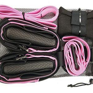 SEVICAT-Suspension-Training-Straps-Body-Workout-Hanging-Belt-Suspension-Training-Tension-Pull-Rope-for-Home-Exerciser-Basic-Kit-for-Home-Gym-0