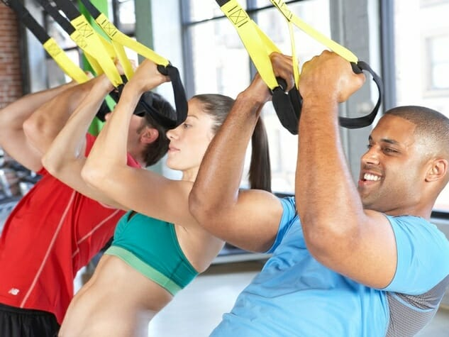 Hang tough with TRX Suspension Trainer