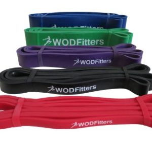 WODFitters-Pull-Up-Assist-Band-Stretch-Resistance-Band-Mobility-Band-Powerlifting-Bands-Extra-Durable-and-Top-Rated-Pull-Up-Assist-Bands-with-eGuide-SINGLE-BAND-0
