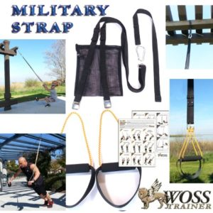 WOSS-Military-Strap-Trainer-Black-with-Built-In-Door-Anchor-Made-in-USA-Suspension-Fitness-0