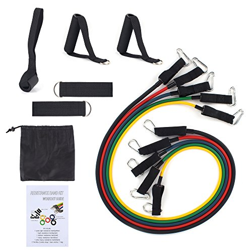 Exercise Bands Door Anchor: Resistance Bands, ADiPROD Sets With Door Anchor, Ankle