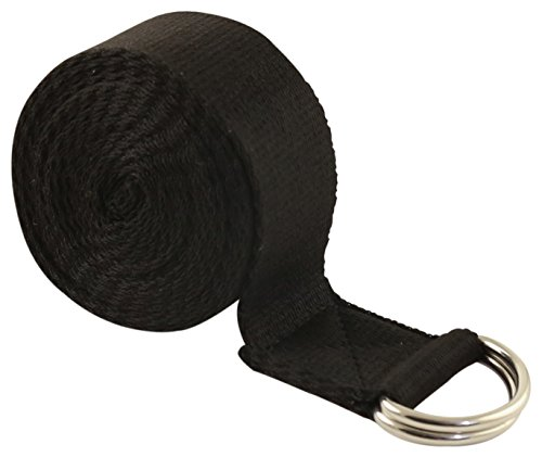 Fit-Spirit-Fitness-Exercise-Yoga-Strap-6ft-8ft-10ft-Pick-Your-Color-and-Size-0