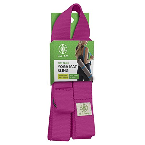 Gaiam Easy Cinch Yoga Mat Slings Sold Individually In