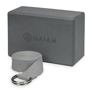 Gaiam-Yoga-StrapBlock-Combo-0