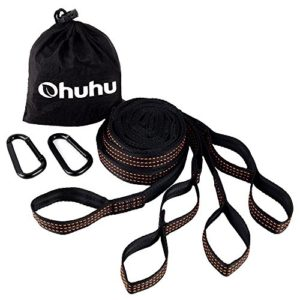 Ohuhu-2-Pcs-Hammock-Tree-Straps-Suspension-System-with-Carabiners-0