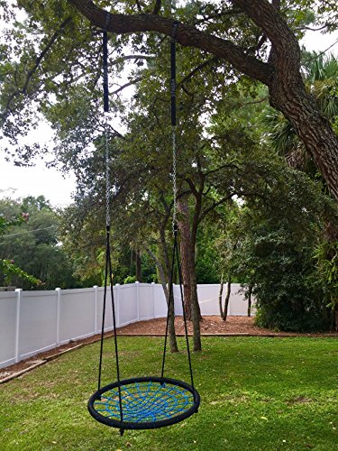 Strera tree swing hanging strap kit set of 2 2000 lbs Wood tree swing and hanging kit