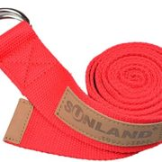 Sunland-Yoga-Stretching-Belt-Fitness-Training-Strap-Belt-With-Metal-D-Ring-and-Leather-Accents-0-4