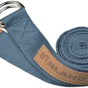 Sunland-Yoga-Stretching-Belt-Fitness-Training-Strap-Belt-With-Metal-D-Ring-and-Leather-Accents-0-5