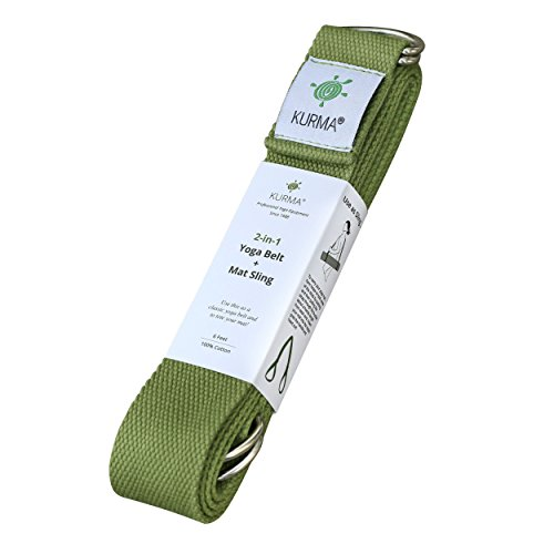 Yoga-Belt-Strap-and-Yoga-Mat-Carrying-Sling-in-one-Cotton-Excellent-Grip-Soft-For-Stretching-and-Carrying-Yoga-Mat-0