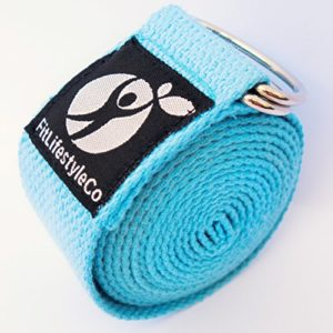 Yoga-Strap-Best-For-Stretching-6-Colors-Instructional-Video-Durable-Cotton-With-Metal-D-Ring-0