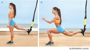 TRX Strap Leg Exercises For Lower Body Strength