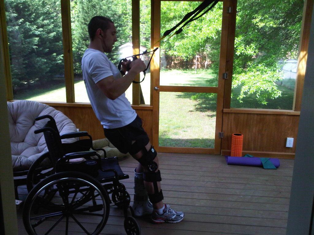 TRX Exercise for rehabilitation