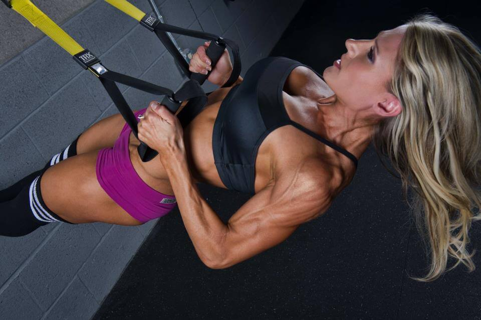 Get shap with TRX exercises