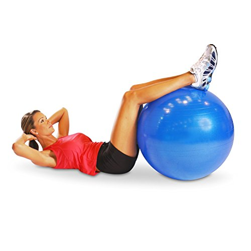 2000lbs Anti Burst Exercise Stability Ball With 2 Sets