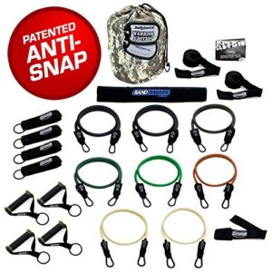 BODYLASTICS STRONG MAN, STACKABLE RESISTANCE BANDS SETS
