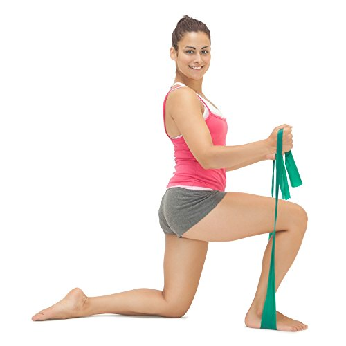 Flat Exercise Stretch Bands 3 X Resistance Bands Set