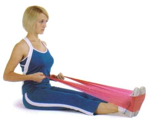 Flat Resistance Exercise Stretch Band Set