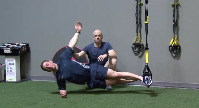 Ab Exercises with TRX Straps