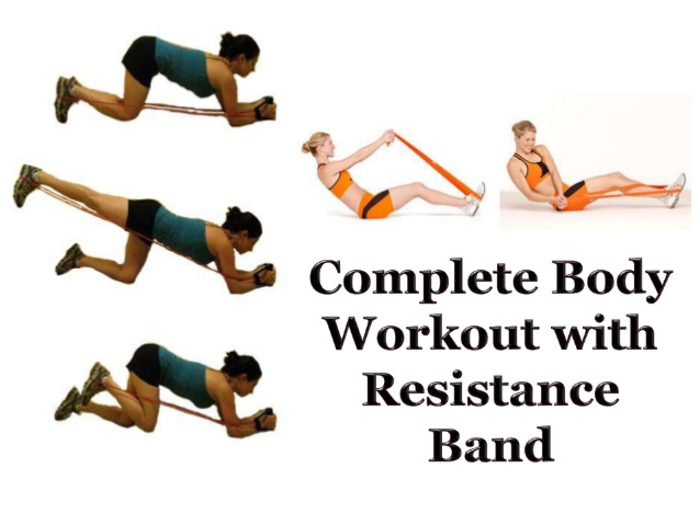 body resistance band workout